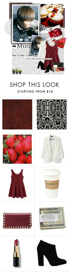 """""""Sweet as can be."""" by glitterlovergurl ❤ liked on Polyvore featuring Andrew Martin, Kreme Life, Aime, Chanel, Kikkerland, Valentino, Bobbi Brown Cosmetics and Giuseppe Zanotti"""