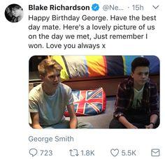 Awwwwe! Man Band, Boy Bands, Love Again, My Love, Happy Birthday George, 3 Idiots, Blake Richardson, New Hope Club, Disney Music