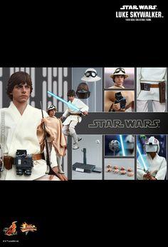 #HotToys #STARWARS #LukeSkywalker #EpisodeIV Happy Collecting!!!