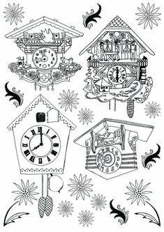 Cuckoo Clock doodles
