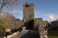 Aughnanure Castle in county Galway, Ireland--home to O'Flaherty clan