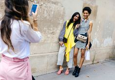 Lineisy Montero in Rag & Bone and with a JW Anderson bag
