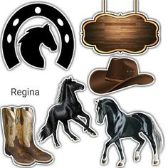 Westerns, Fondant Bow, Cowgirl Party, Western Parties, Wonder Woman Logo, Horse Crafts, Cowboy And Cowgirl, Painting On Wood, Cake Toppers