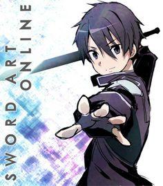 Sword Art Online - Kirito He got me into this show, now I love it! lol