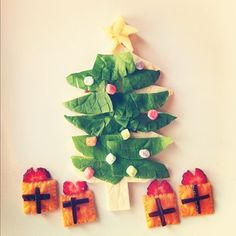 Happy Dec 1st Lunch #weplaywithourfood. my cousin made this! How amazing is she?
