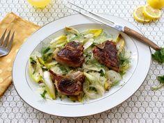 Celebrating Spring and Holding the Salt: Lamb with Fennel and Mint | Healthy Eats – Food Network Healthy Living Blog