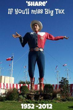 'BigTex had 60 good yrs bringing joy to the public at the Texas State Fair...' (@KPRCLocal2/Twitter)  #bigtexfire