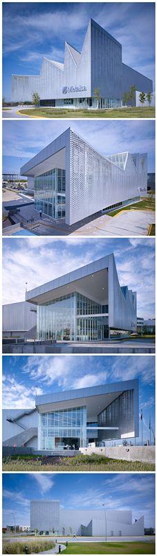 brooks + scarpa: metalsa center for manufacturing innovation