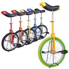This is just the one you can start to cycling with - a professional unicycle with top quality and somatological design! Great for both novices and professionals, men and women!!!