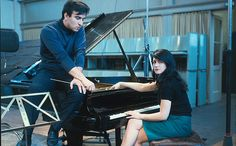 Martha Argerich and Claudio Abbado - Steinway Artists #SteinwayPiano