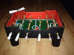 Surprise: voetbaltafel