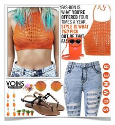 """YOINS CROCHET TOP CONTEST!♥"" by av-anul ❤ liked on Polyvore featuring Spektre, NOVICA, J.Crew, Tory Burch, yoins, avanul and yoinscolllection"