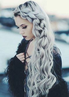 50 gorgeous braids hairstyles for long hair Related posts: 50 gorgeous braids hairstyles for long hair 50 gorgeous braids hairstyles for long hair Beautiful Braids Hairstyles … Unique Hairstyles, Pretty Hairstyles, Braided Hairstyles, Wedding Hairstyles, Hairstyles 2018, Braided Updo, Latest Hairstyles, Edgy Updo, Hipster Hairstyles