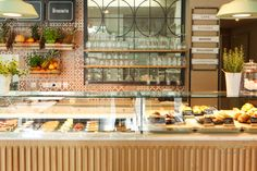 #breakfastbar #foodpresentation #catering #cateringideas #juicebar #smoothiebar #bistro #bistroidea #bistroideas #bistrodesign Bistro Design, Croissants, Smoothie Bar, French Bistro, Food Presentation, Catering, Interior, Plants, Brewery
