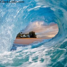 Image name: Blue Ice ⚡⚡⚡ #hawaii #aloha #clarklittle  Nikon d300/sb800 flash #Padgram