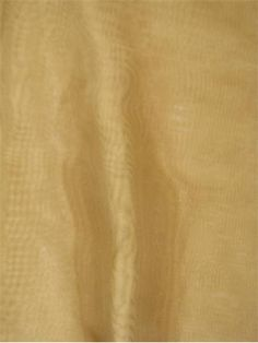 "Voile Victorian Gold - Voile drapery fabric. 118"" WIDE Sheer drapery fabric for curtains, window panels or party decorating fabric. Flame retardant- Passed NFPA 701 Standards. 100% easy care polyester. Please Note; 20 yard minimum"