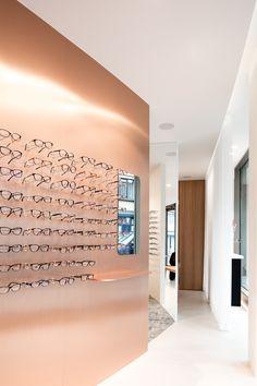 Ornements d/écoratifs de vitrine /étag/ères pr/ésentoirs de Magasin doptique Glasses frame Cadres en Bois Massif