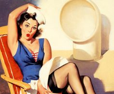 For a little mix, heres a bunch of old school Pin up girls (28 Photos)