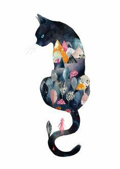 Art and illustration Art And Illustration, Illustrations, Cat Drawing, Cat Art, Alice In Wonderland, Cute Cats, Adorable Kittens, Cat Lovers, Stuffed Animals