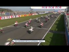 MCE BSB - R1 Donington Park Race 2 Hi-Lites presented by E-Lites - Motorcycle Videos