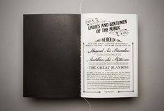 The Great Blandini by Mike Reed, via Behance