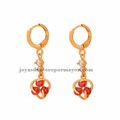 arete cristal de oro dorado acero inoxidable BREGG76093