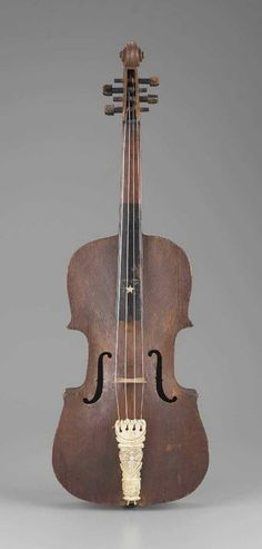 Folk violin , 19th century