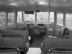 Первые 5 автобусов ГЗА 651, собранные на ПАЗ. 17 августа 1952 г.