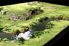 Wargaming Table, Wargaming Terrain, Game Terrain, 40k Terrain, Warhammer Terrain, Model Maker, Halloween Village, Model Train Layouts, Model Trains