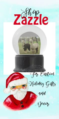 Shop Two Alpaca Snow Globe created by InteriorDecorating. Personalize it with photos & text or purchase as is! Custom Pillows, Decorative Pillows, Llama Christmas, Cute Llama, Pillow Quotes, Glass Globe, Classic Toys, Winter Scenes, Snow Globes