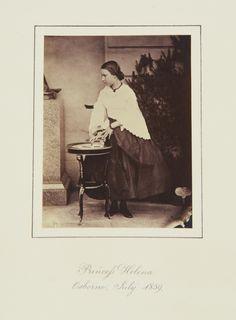 Princess Helena, Osborne, July 1859 [in Portraits of Royal Children Vol.4 1859-1860]   Royal Collection Trust