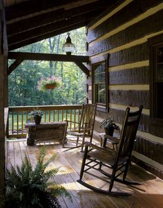 thevoyaging:  Cabin Porch, Charlottesville, Virginia photo via jennifer