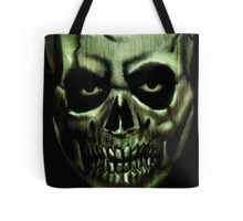 Tote Bag #evil #eyes #gothic #horror #demon #monster #rockabilly #terror #creepy #skeleton
