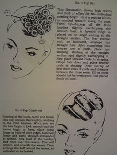 pin curls - front wave                                                                                                                                                                                 More