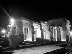 Komombo Temple by night was incredible. Ancient sites take on a whole new life after dark! #CyplonNile