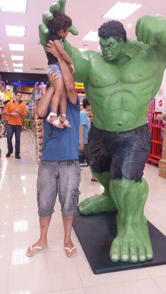 E o Incrível Hulk não conseguiu me derrotar... Manuk saiu ilesa... 27/12/2014
