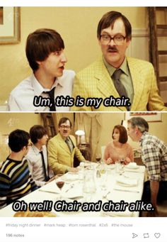 """21 Times Jim From """"Friday Night Dinner"""" Made You Cry Laughing Men Quotes Funny, Tv Quotes, Funny Memes, Hilarious, Movie Quotes, Dinner Quotes, Junior Doctor, Friday Night Dinners, Christian Dating Site"""