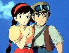 Shop for Cartoon Ghibli Plush & Other Merchandise at Ghiblifan. Studio Ghibli Films, Art Studio Ghibli, Manga Anime, Film Anime, Hayao Miyazaki, Totoro, Chihiro Y Haku, Film D, Castle In The Sky