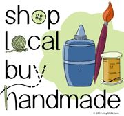 Share your love for Shopping Local & Buying Handmade!