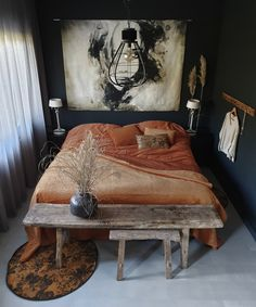 Luxury bedding goes together with a wonderful sleep – Deco. Dream Bedroom, Room Decor Bedroom, Home Bedroom, Bedrooms, Bedroom Styles, My New Room, Interior Design Inspiration, Interiores Design, Nature Decor