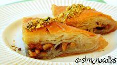 Baclava-Baklava-2 Turkish Recipes, Ethnic Recipes, Spanakopita, Food And Drink, Houses, Turkish Food Recipes