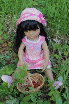 La fête des mamans :) + tuto robe et chapeau pour poupées Gotz (50 cms)