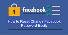 Reset or Change Facebook password without old password | Facebook forgot password code