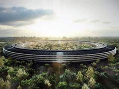 Entreprise Campus : l'exemple du futur siège social d'Apple (Etats-Unis)