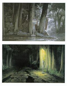 My Neighbor Totoro | Hayao Miyazaki | Studio Ghibli / Background Drawing
