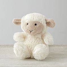 Every stuffed animal needs a good home, and this small plush sheep is no…