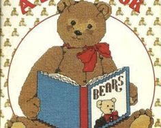 Gordon Fraser A Bear Book Counted Cross Stitch Patterns Teddy Bears from Gloria & Pat Designs