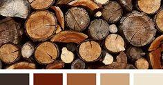 Liked on Pinterest: Herrliche Inspiration aus der Natur - die erdigen  und facettenreichen Holztöne für den Herbst - Farbtyp