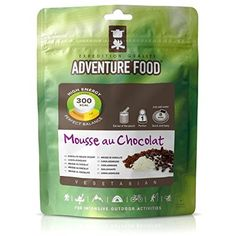 TREKMATES ADVENTURE FOOD DESSERT CHOCOLATE MOUSSE FOR 1 PERSON GREEN POUCH ** More info could be found at the image url.(This is an Amazon affiliate link and I receive a commission for the sales)