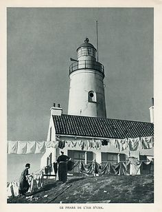 HOLLAND NEDERLANDEN ILE URK ISLAND LIGHTHOUSE PHARE HOLLANDE IMAGE 1951